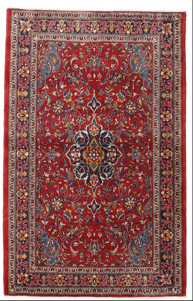 사로크 러그 105X165 정품  오리엔탈 수제 다크 레드/다크 브라운 (울, 페르시아/이란)