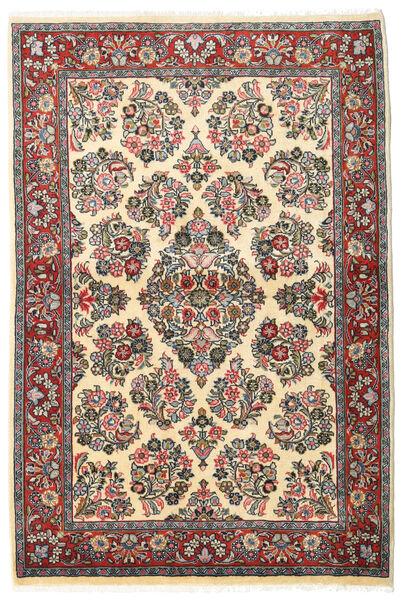 사로크 러그 106X160 정품  오리엔탈 수제 다크 그레이/다크 베이지 (울, 페르시아/이란)
