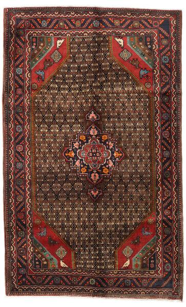 Koliai Tappeto 150X244 Orientale Fatto A Mano Rosso Scuro/Marrone Scuro (Lana, Persia/Iran)