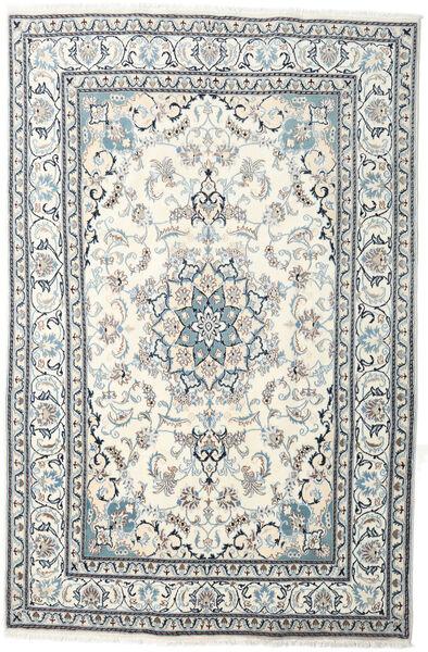 Nain Matta 199X301 Äkta Orientalisk Handknuten Beige/Ljusgrå (Ull, Persien/Iran)