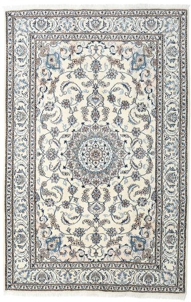 Nain Matta 198X304 Äkta Orientalisk Handknuten Ljusgrå/Beige (Ull, Persien/Iran)