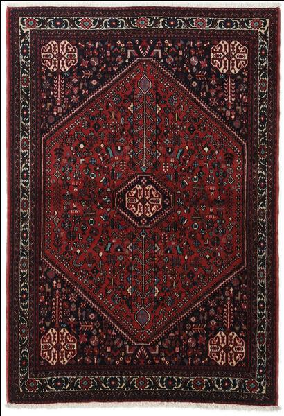 Abadeh Tapis 100X151 D'orient Fait Main Marron Foncé/Rouge Foncé (Laine, Perse/Iran)