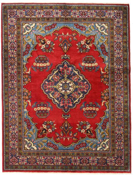 Wiss Tapis 160X210 D'orient Fait Main Marron Foncé/Rouille/Rouge (Laine, Perse/Iran)