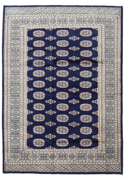 Pakistan Bokhara 2Ply Rug 170X237 Authentic  Oriental Handknotted Light Grey/Dark Blue (Wool, Pakistan)