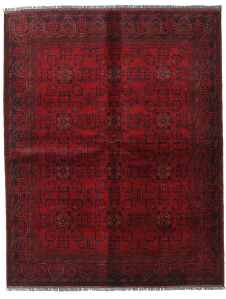 アフガン Khal Mohammadi 絨毯 178X225 オリエンタル 手織り 深紅色の/濃い茶色 (ウール, アフガニスタン)