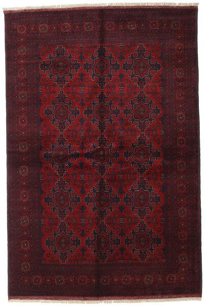 アフガン Khal Mohammadi 絨毯 169X252 オリエンタル 手織り 深紅色の (ウール, アフガニスタン)
