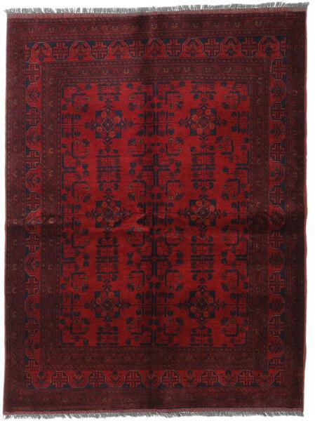 アフガン Khal Mohammadi 絨毯 152X200 オリエンタル 手織り 深紅色の (ウール, アフガニスタン)