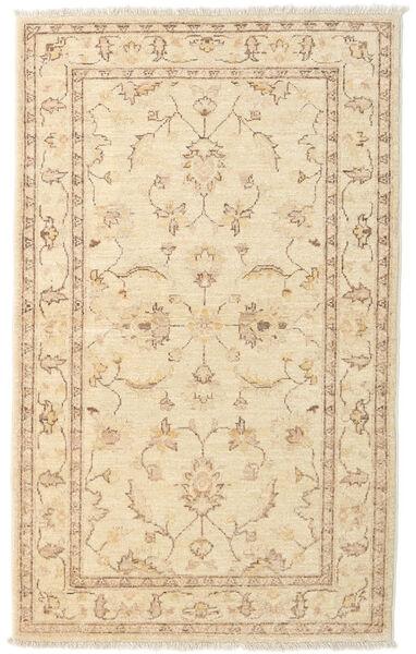 Ziegler Rug 90X147 Authentic  Oriental Handknotted Beige/Light Brown (Wool, Afghanistan)