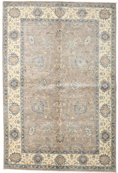 Ziegler Ariana Rug 165X243 Authentic  Oriental Handknotted Light Grey/Beige (Wool, Afghanistan)