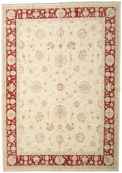Ziegler Ariana Rug 292X417 Authentic  Oriental Handknotted Beige/Dark Beige Large (Wool, Afghanistan)