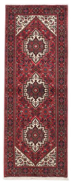 Gholtogh Dywan 75X202 Orientalny Tkany Ręcznie Chodnik Ciemnoczerwony/Brązowy (Wełna, Persja/Iran)