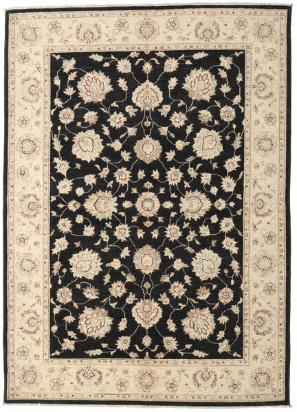 Ziegler Ariana Rug 168X235 Authentic  Oriental Handknotted Beige/Black (Wool, Afghanistan)