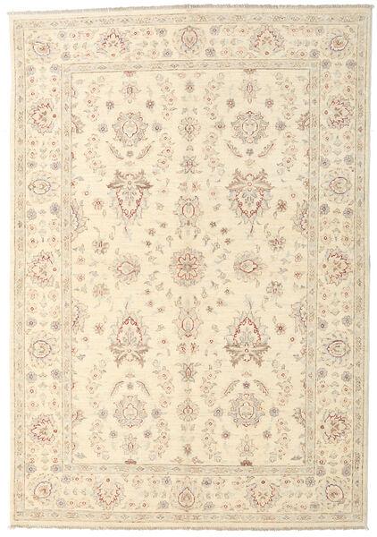 Ziegler Ariana Rug 164X238 Authentic  Oriental Handknotted Beige (Wool, Afghanistan)