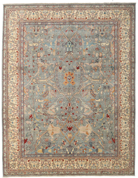 Ziegler Ariana Rug 274X354 Authentic  Oriental Handknotted Light Grey/Light Brown Large (Wool, Afghanistan)