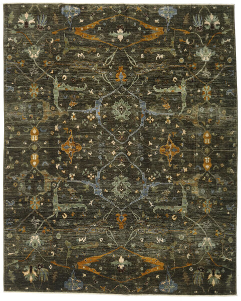 Ziegler Ariana Rug 243X303 Authentic  Oriental Handknotted Dark Brown/Dark Green (Wool, Afghanistan)