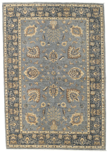 Ziegler Ariana Rug 166X240 Authentic  Oriental Handknotted Light Grey/Dark Grey (Wool, Afghanistan)
