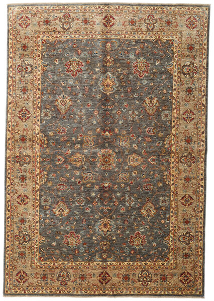 Ziegler Ariana Rug 168X245 Authentic  Oriental Handknotted Brown/Light Brown/Dark Grey (Wool, Afghanistan)