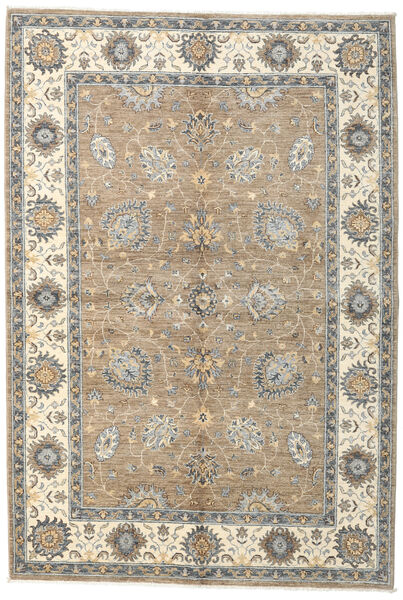 Ziegler Ariana Rug 165X241 Authentic  Oriental Handknotted Light Grey/Beige (Wool, Afghanistan)