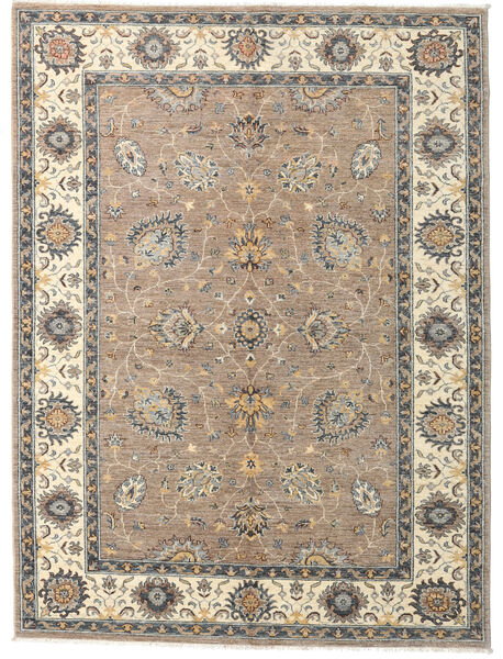 Ziegler Ariana Rug 167X224 Authentic  Oriental Handknotted Light Grey/Beige (Wool, Afghanistan)