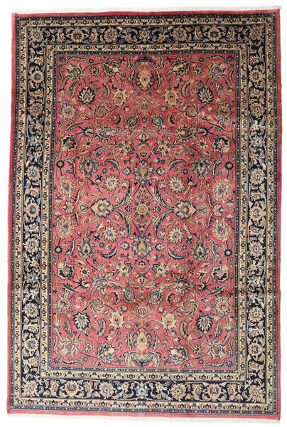 Mashad Rug 186X315 Authentic  Oriental Handknotted Dark Grey/Beige (Wool, Persia/Iran)