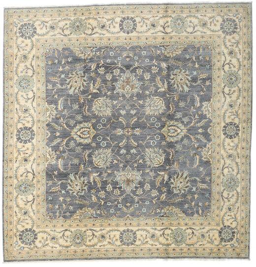 Ziegler Ariana Rug 244X249 Authentic  Oriental Handknotted Square Dark Grey/Dark Beige/Light Grey (Wool, Afghanistan)
