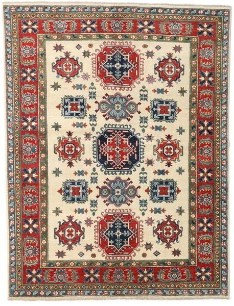 Kazak Rug 172X228 Authentic  Oriental Handknotted Beige/Dark Grey (Wool, Pakistan)