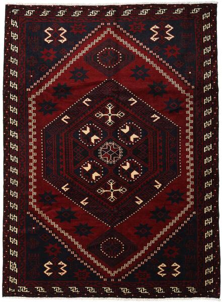 Lori Rug 220X300 Authentic  Oriental Handknotted Dark Red (Wool, Persia/Iran)