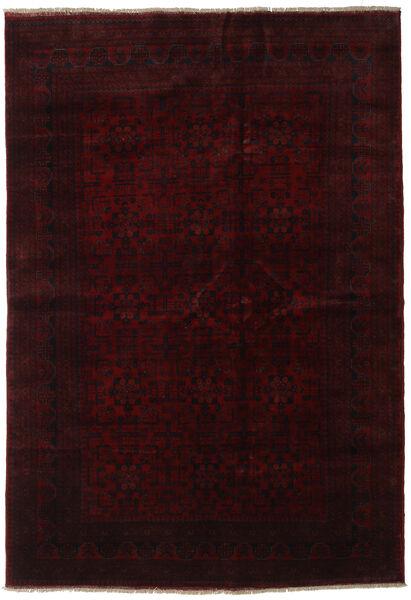 Afgán Khal Mohammadi Szőnyeg 203X296 Keleti Csomózású Sötétbarna/Sötétpiros (Gyapjú, Afganisztán)