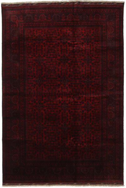 Afghan Khal Mohammadi Rug 200X296 Authentic  Oriental Handknotted Dark Brown/Dark Red (Wool, Afghanistan)
