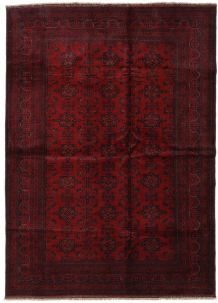 Afgán Khal Mohammadi Szőnyeg 209X286 Keleti Csomózású Sötétpiros (Gyapjú, Afganisztán)