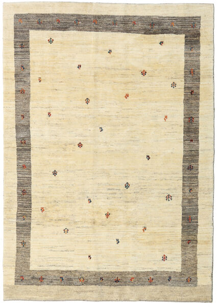 Gabbeh Persia Rug 173X246 Authentic  Modern Handknotted Beige/Light Grey (Wool, Persia/Iran)