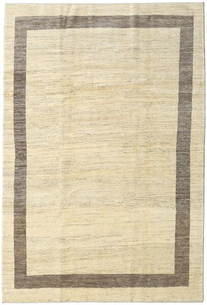 Gabbeh Persia Rug 209X309 Authentic  Modern Handknotted Beige/Dark Beige (Wool, Persia/Iran)