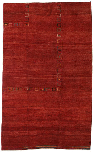 Gabbeh Persia Rug 192X314 Authentic  Modern Handknotted Rust Red/Dark Red (Wool, Persia/Iran)