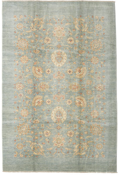 Ziegler Ariana Rug 207X307 Authentic  Oriental Handknotted Light Grey/Beige (Wool, Afghanistan)