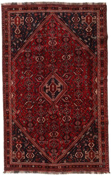 Ghashghai Matto 167X267 Itämainen Käsinsolmittu Tummanpunainen (Villa, Persia/Iran)