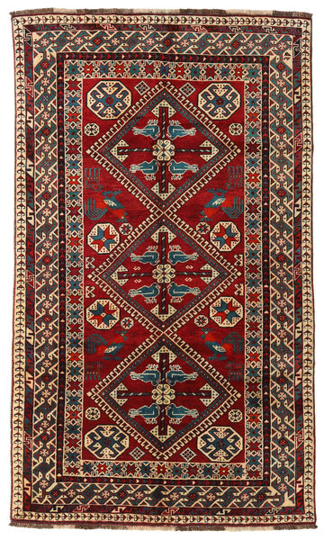 Qashqai Rug 153X261 Authentic  Oriental Handknotted Dark Red/Dark Brown (Wool, Persia/Iran)