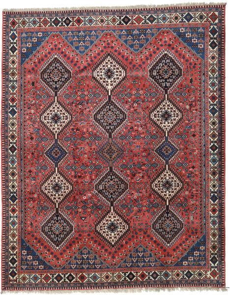 Yalameh Rug 205X256 Authentic  Oriental Handknotted Dark Red/Dark Blue (Wool, Persia/Iran)
