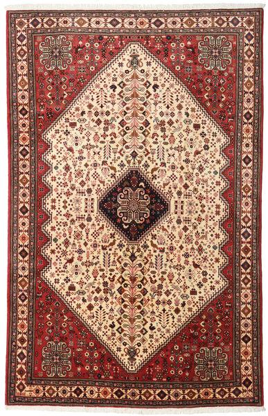 Abadeh Rug 165X260 Authentic  Oriental Handknotted Dark Red/Dark Brown (Wool, Persia/Iran)