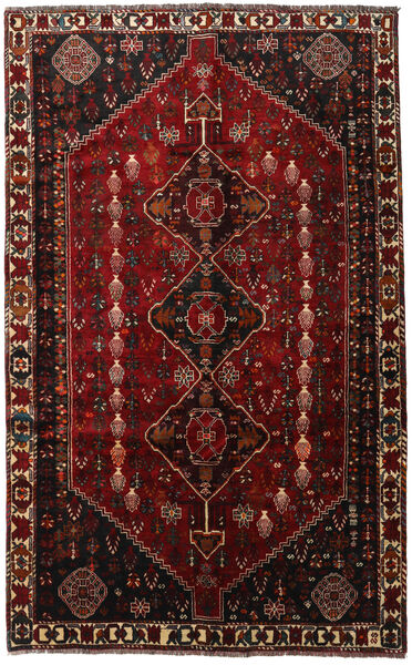 Qashqai Rug 169X273 Authentic  Oriental Handknotted Dark Red (Wool, Persia/Iran)