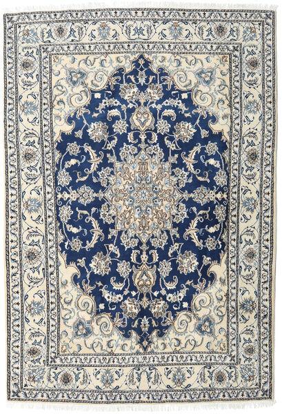 Nain Rug 166X242 Authentic  Oriental Handknotted Light Grey/Dark Grey (Wool, Persia/Iran)