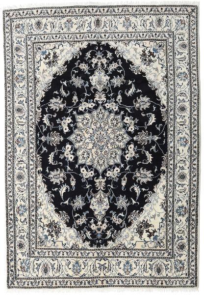 Nain Dywan 164X236 Orientalny Tkany Ręcznie Jasnoszary/Czarny (Wełna, Persja/Iran)