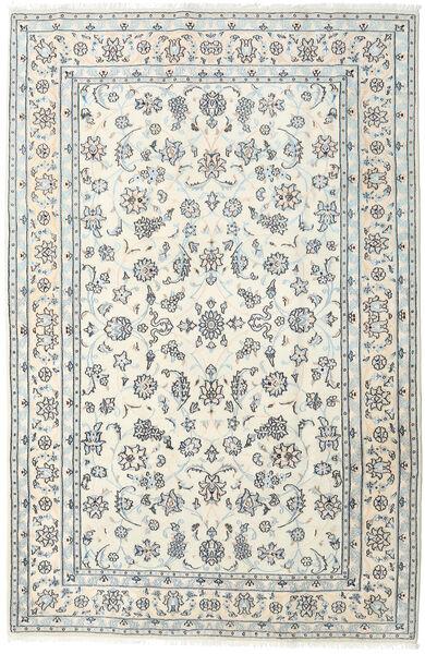 Nain Dywan 198X301 Orientalny Tkany Ręcznie Beżowy/Jasnoszary (Wełna, Persja/Iran)
