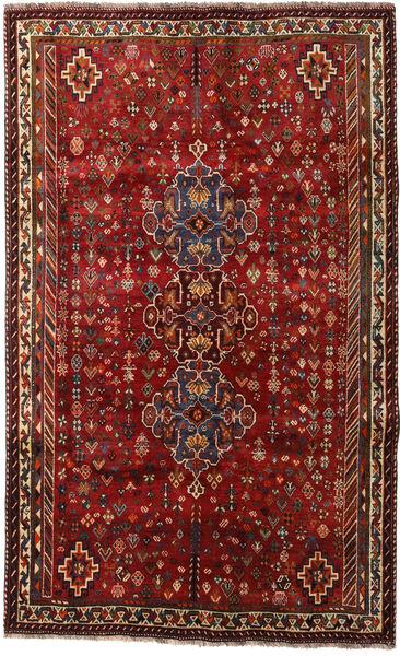 Qashqai Rug 170X273 Authentic  Oriental Handknotted Dark Red/Dark Brown (Wool, Persia/Iran)