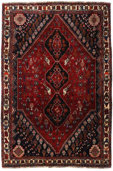 Qashqai Rug 180X269 Authentic  Oriental Handknotted Dark Red/Dark Brown (Wool, Persia/Iran)