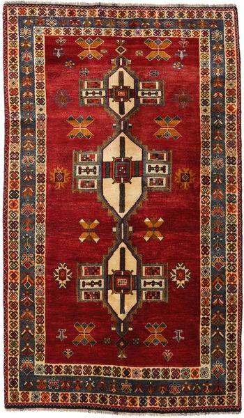 Ghashghai Matto 148X252 Itämainen Käsinsolmittu Tummanpunainen/Tummanruskea (Villa, Persia/Iran)