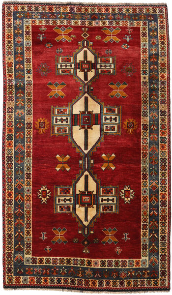 Qashqai Rug 148X252 Authentic  Oriental Handknotted Dark Red/Dark Brown (Wool, Persia/Iran)
