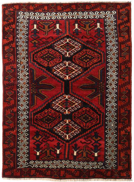 Lori Dywan 165X223 Orientalny Tkany Ręcznie Ciemnoczerwony/Rdzawy/Czerwony (Wełna, Persja/Iran)