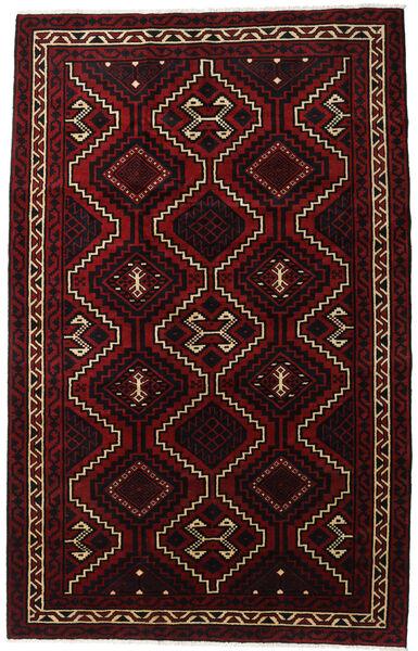 Lori Szőnyeg 179X281 Keleti Csomózású Sötétpiros (Gyapjú, Perzsia/Irán)