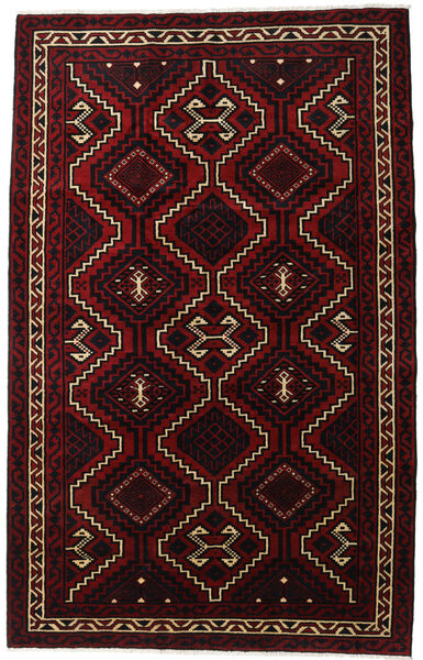 Lori Rug 179X281 Authentic  Oriental Handknotted Dark Red (Wool, Persia/Iran)