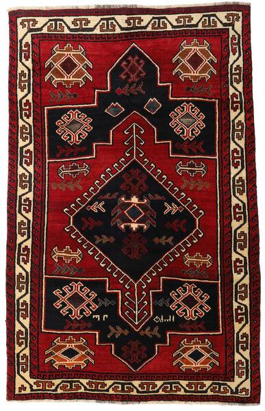 Lori Dywan 156X248 Orientalny Tkany Ręcznie Ciemnobrązowy/Ciemnoczerwony (Wełna, Persja/Iran)